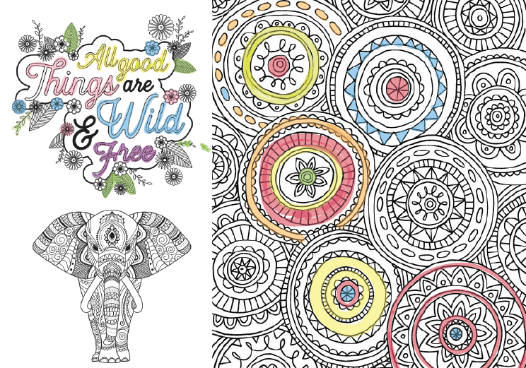 Free Adult Coloring Pages 35 Gorgeous Printable To Rhtealnotes: Stress Coloring Pages Free Printable At Baymontmadison.com