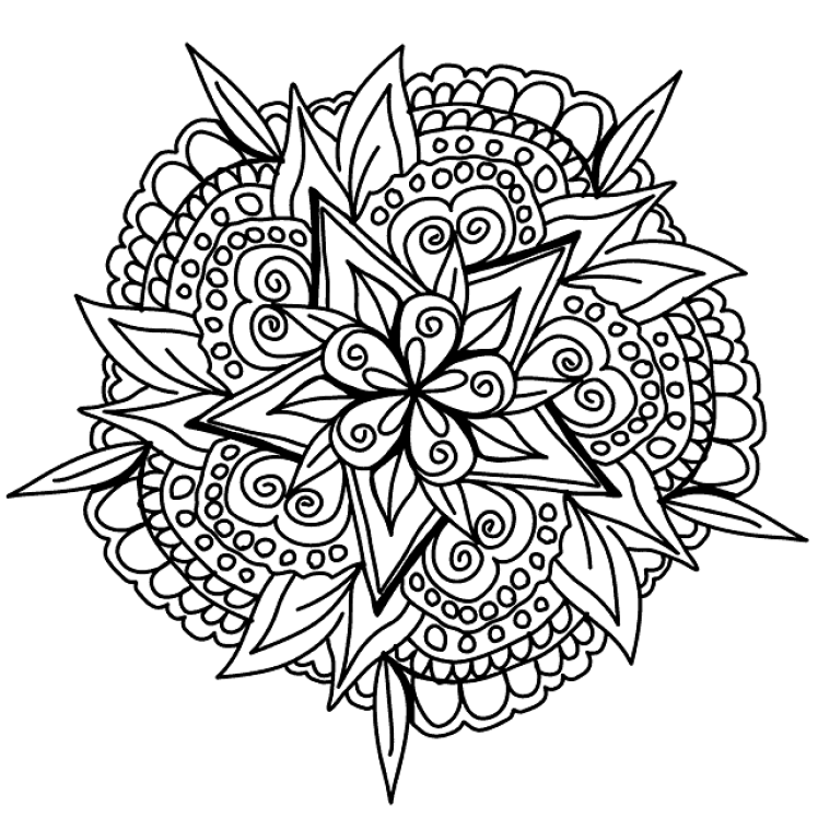 FREE Adult Coloring Pages: 35 Gorgeous Printable Coloring ...