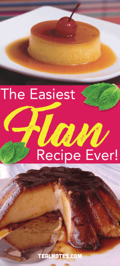 Easy flan recipe- best flan recipe