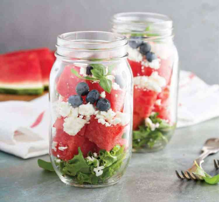 how to meal prep and meal prep recipe ideas salad in a jar