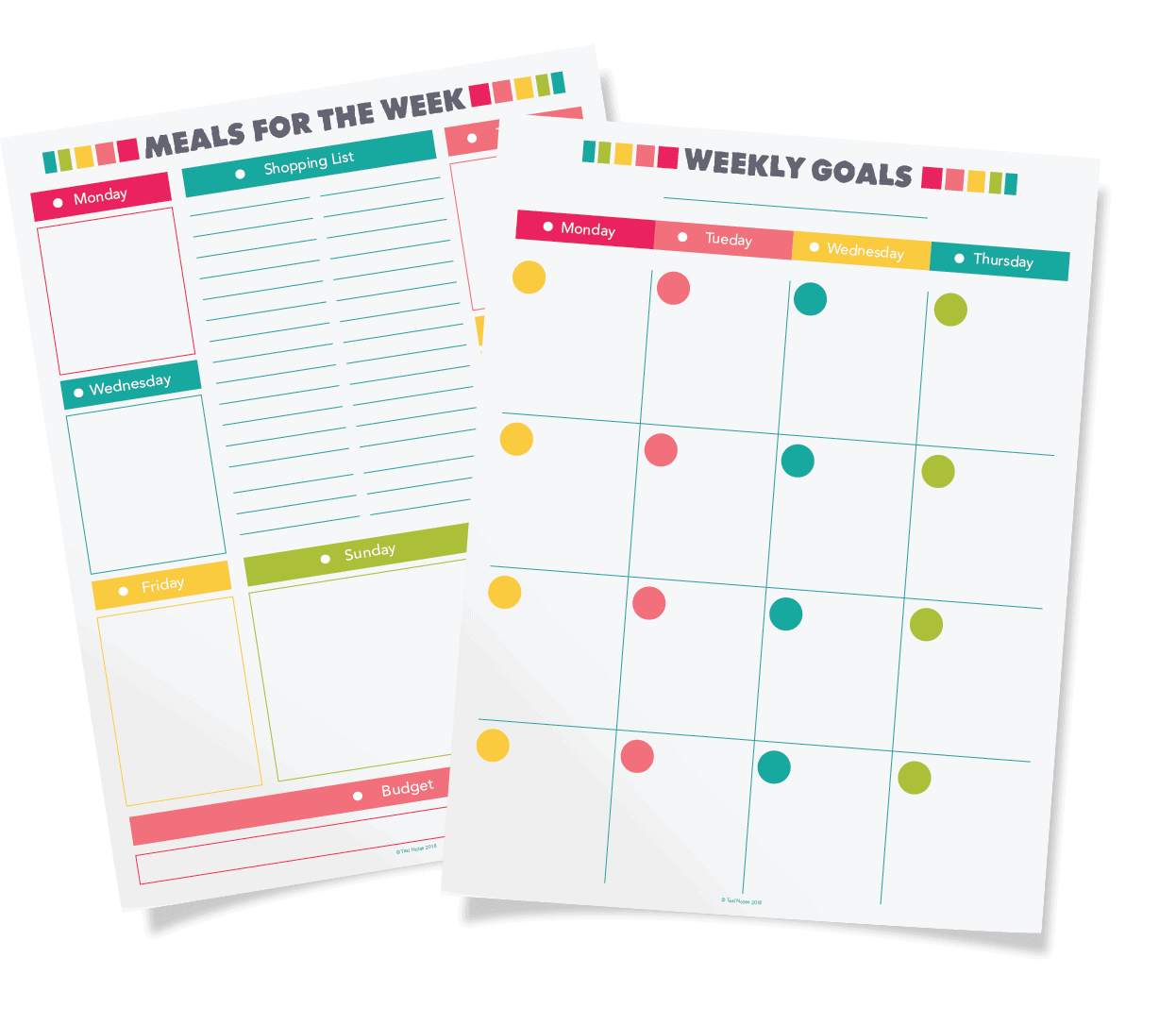 graphic regarding Printable Life Planner identify Totally free Planner Printables: How Toward Prepare Your Comprehensive Everyday living