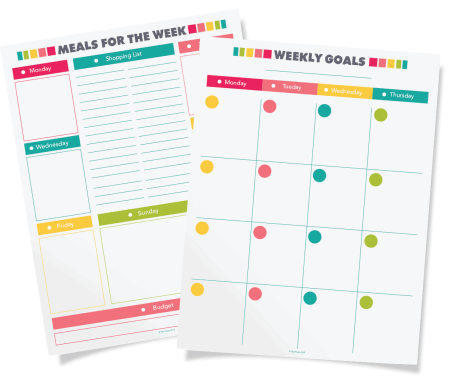 Free Planner Printables How To Organize Your Whole Life With A Diy