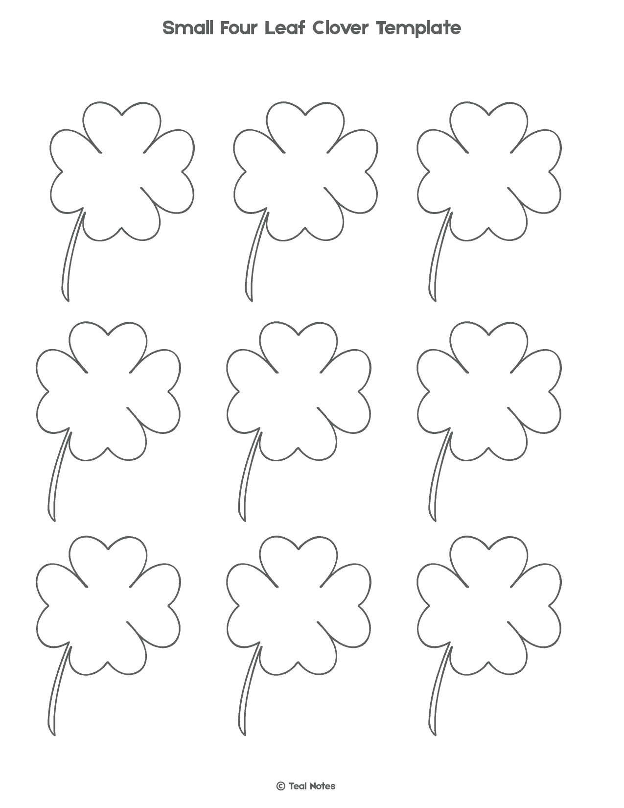 It is a graphic of Shamrock Template Printable Free throughout worksheet