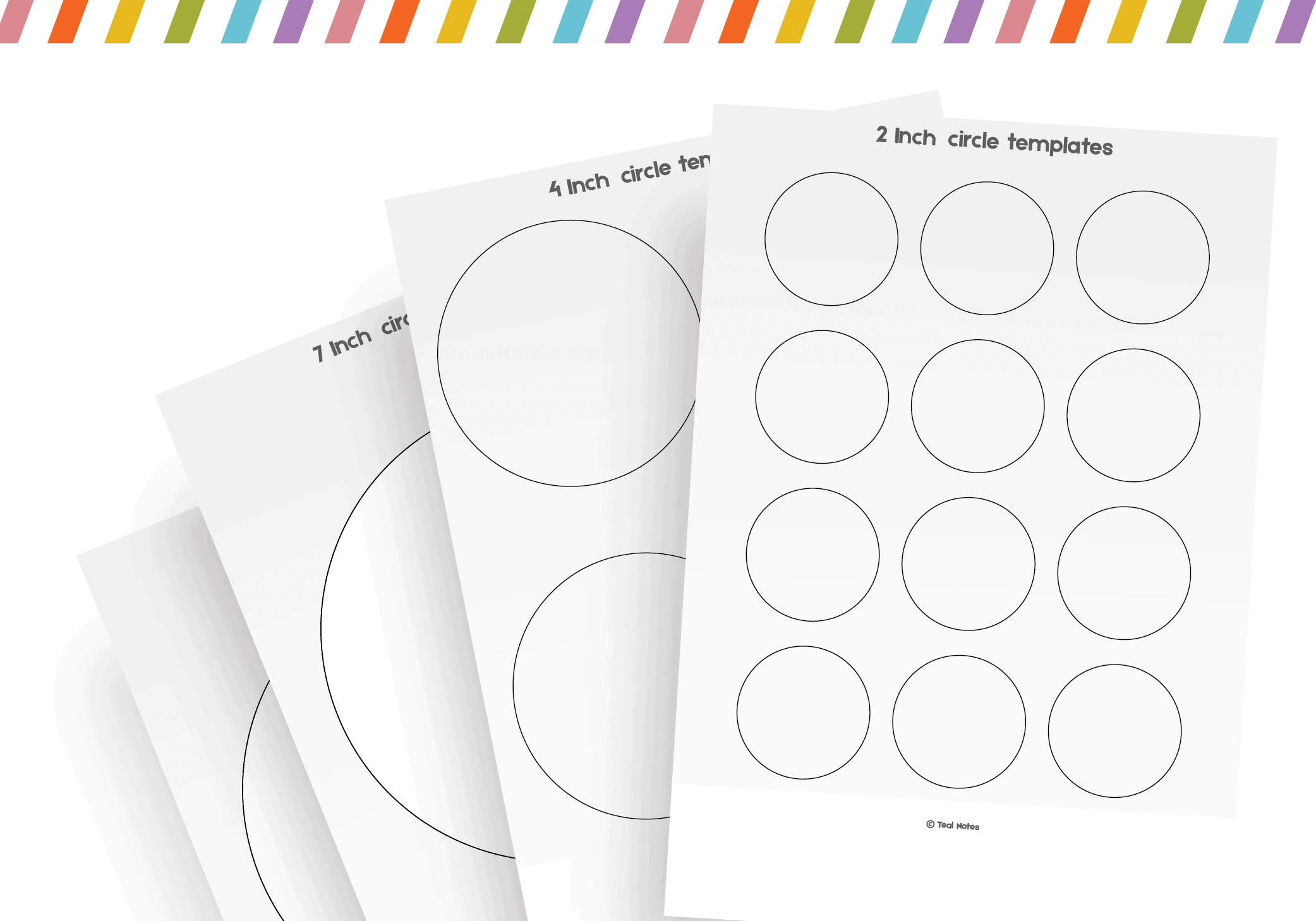 graphic relating to Free Printable Sign Templates called Circle Template: No cost Printable Circle Templates For Your