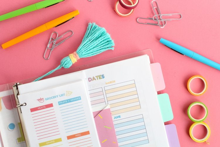printable planner pages | DIY home management planner
