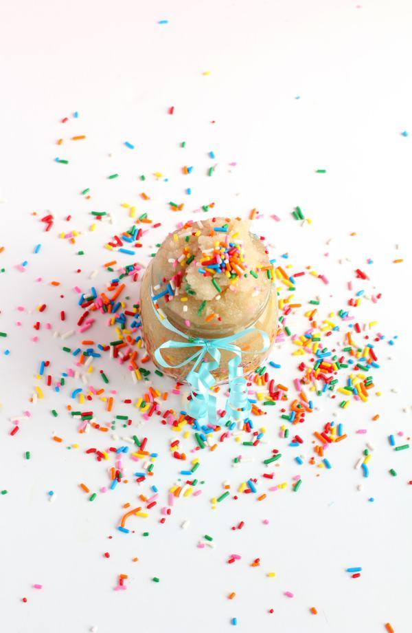 birthday cake sugar scrub recipe