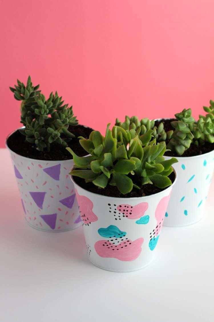 DIY Succulent Planters | fun succulent planter ideas