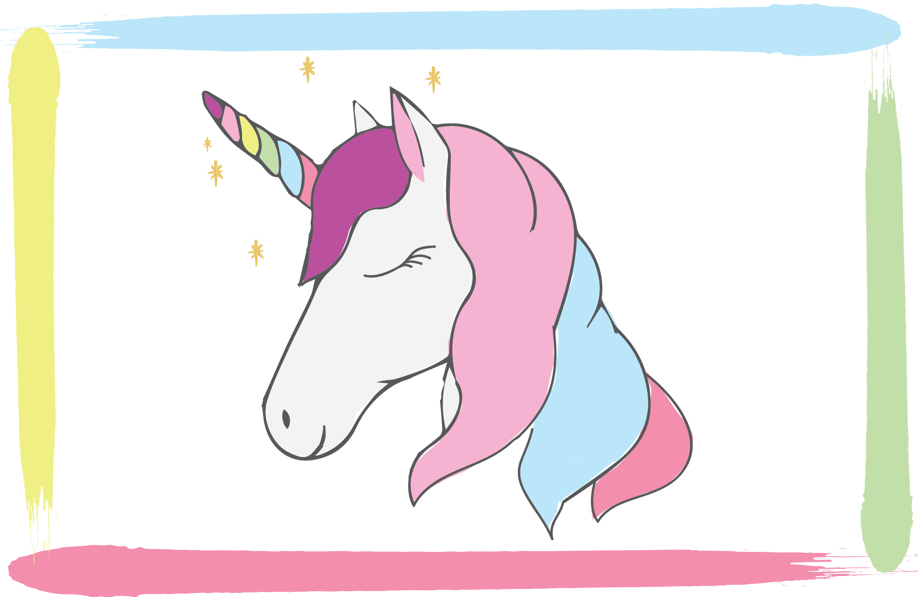 This is an image of Printable Pictures of Unicorns pertaining to pink fluffy unicorn