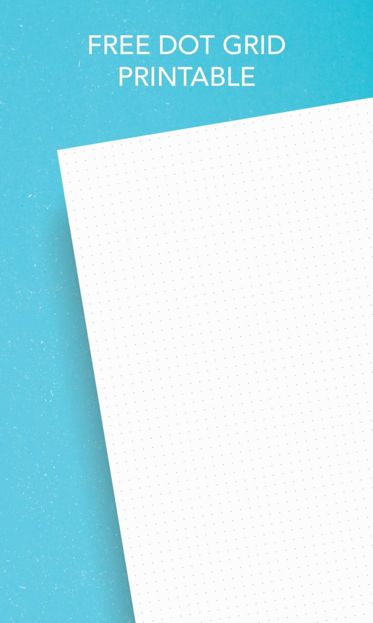 Free dot grid printable paper