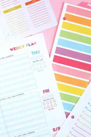 diy printable planner ideas