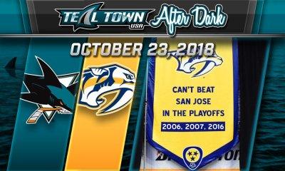 San Jose Sharks vs Nashville Predators