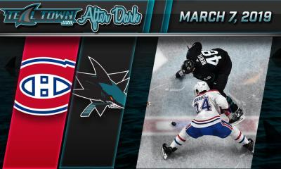 Sharks vs Canadiens 3/7/2019