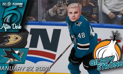 San Jose Sharks vs Anaheim Ducks 1-27-20
