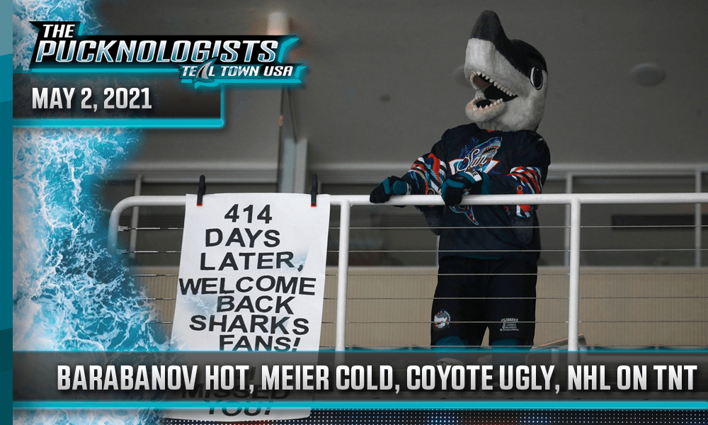Barabanov Hot, Meier Cold, Coyote Ugly, NHL On TNT - The Pucknologists 131