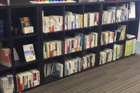 パズル一番町の本棚