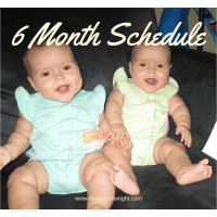 6 Month Old Twins Schedule