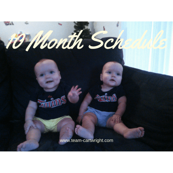 Ten month update and schedule