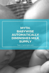 Think using the Babywise method will tank your milk supply? Thank again. You can breastfeed, and breastfeed twins, while still utilizing schedules. #schedules #babywise #breastfeeding Team-Cartwright.com