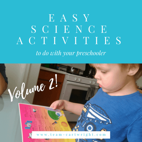 Easy Preschool Science {Vol. 2}