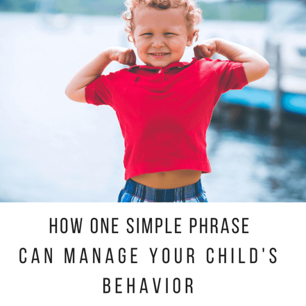 6 Simple Words: Our good behavior mantra for all situations