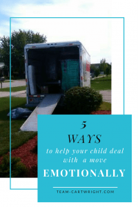 5 ways to help your child emotionally deal with a move.