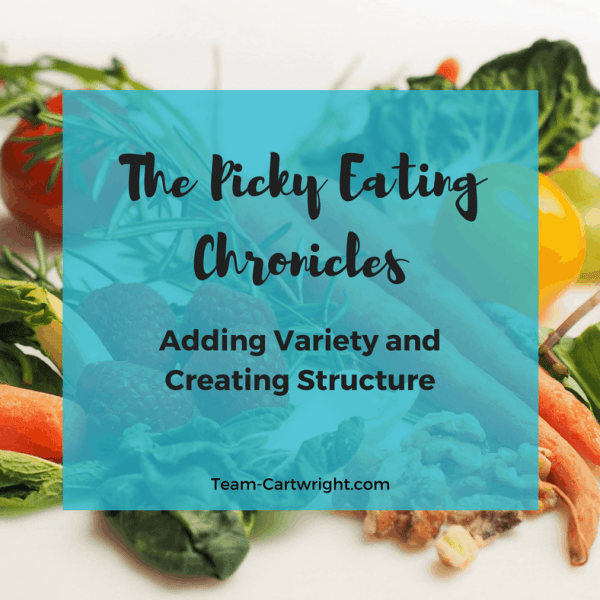 The Picky Eating Chronicles: Adding Variety and Creating Structure