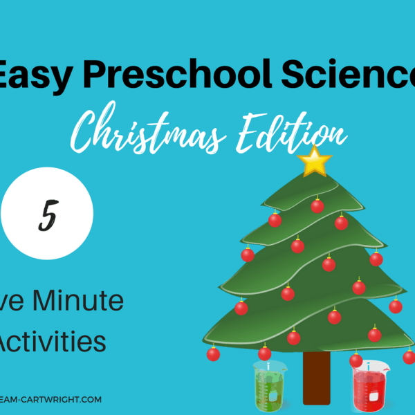 Easy Preschool Science: 5 Five Minute Christmas Activities