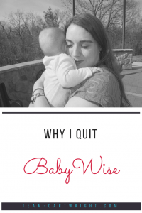 Babywise has some misconceptions. I started the method and quit. But then I read the book and learned what it was really all about. Here is why I quit Babywise. #Babywise #parenting #schedule #newborn #baby #twin Team-Cartwright.com