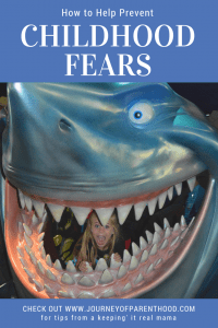 How to prevent childhood fears.