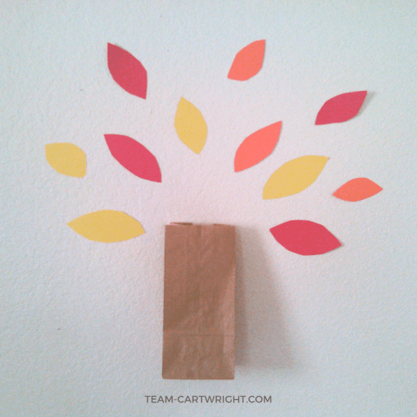 Teaching Gratitude with an Easy Thankful Tree