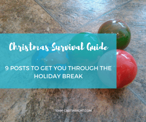 The holiday break is busy. Here are 9 posts to help you get through it. #christmas #break #baby #kids