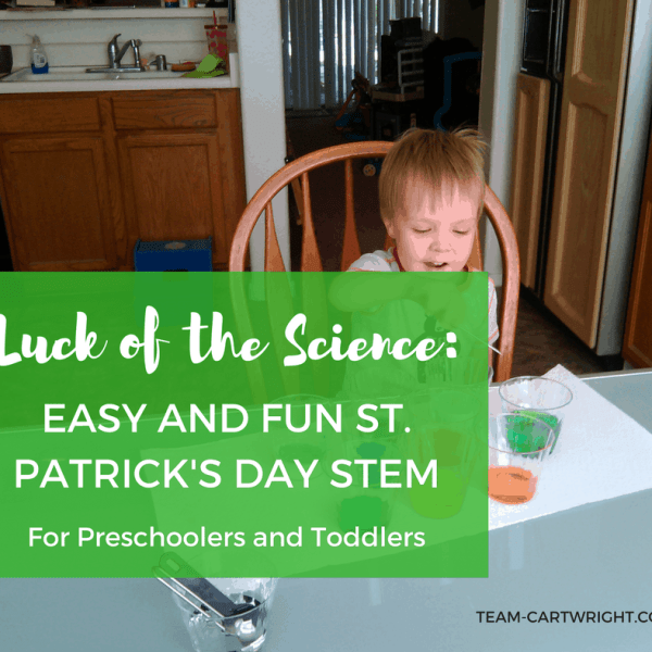 Luck of the Science: Easy and Fun St. Patrick's Day STEM