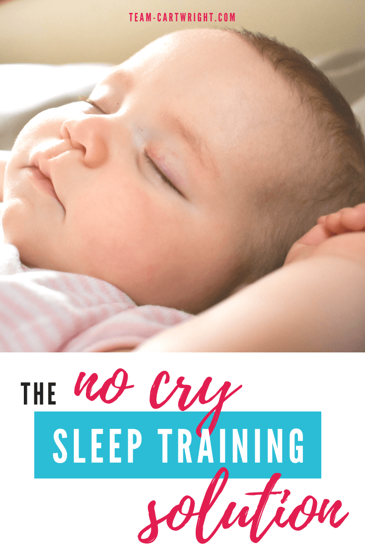 caccd061b3d001 The no cry sleep training solution. You can teach your baby to sleep  without crying