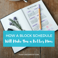 How A Block Schedule Will Make You a Better Mom