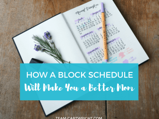 As busy moms we need to do it all. But can we? Realistically, probably not. But we can certainly do our best and utilizing a block schedule can help us fit in everything we need to do in a day. Learn what this is and how to build your blocks to maximize your daily efficiency. Prioritizing Tasks | Cleaning with kids | Daily Organizing | Busy Mom Help | Block Scheduling | Stay at home mom #cleaning #hack #schedule #organization #mom #busy Team-Cartwright.com