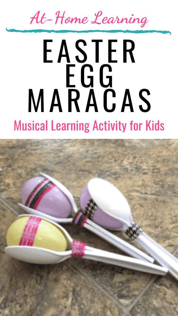 Easter Egg Maracas easy craft for kids