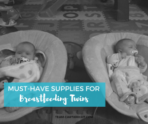 Must-have supplies for breastfeeding twins. Here is everything you will need to get to be ready to nurse your twins. Breastfeeding Twins   Breastfeeding Supplies   Nursing Gear   Feeding Twins #breastfeeding #breastfeedingtwins #breastfeedingsupplies #supplies #nursingpillow #newborntwins Team-Cartwright.com