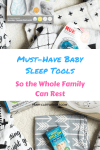 Sleep is important for everyone! Here are the best sleep tools to help baby sleep, and the whole family rest. #newbornsleep #babysleep #sleepprops #babywise #sleeptools #sleeptips Team-Cartwright.com