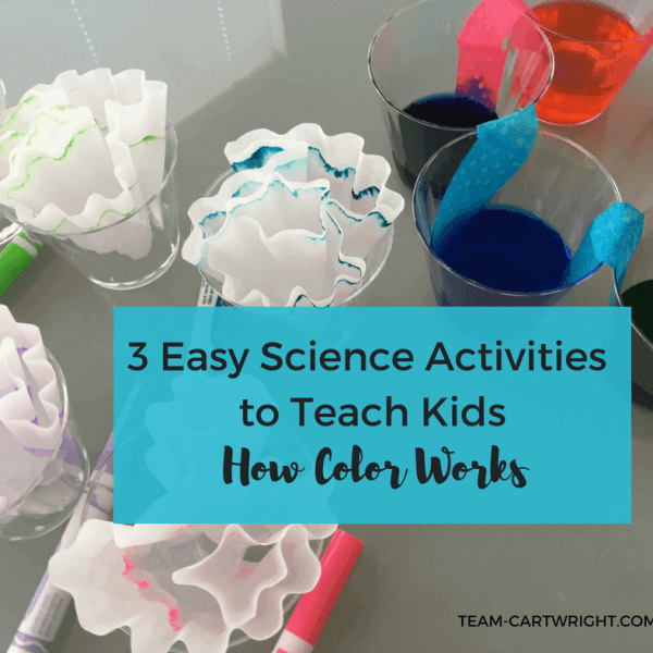 3 Easy Science Activities to Teach Kids How Colors Work