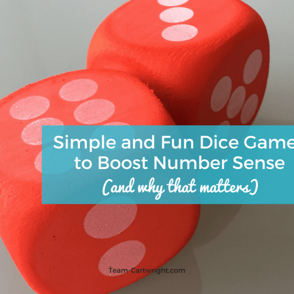 Simple and Fun Dice Games to Boost Number Sense (and Why That Matters)