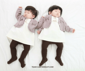 Twin Sleeping Arrangements: Safety and Practicality. Ways for your twins to sleep safely. #twins #newborntwins #infanttwins #twinsleep #twincribs #twinbassinet Team-Cartwright.com