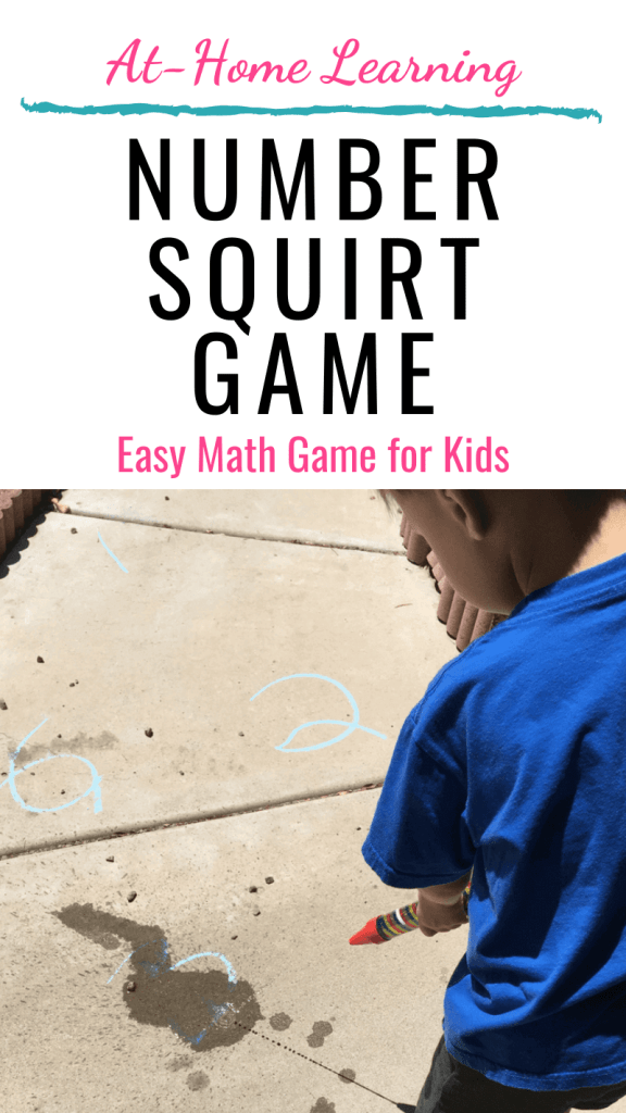 Easy and fun Number Squirt Game Easy Math Game for kids