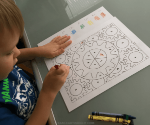 7 Big Benefits Coloring Provides to Kids. Simple activities pack a big punch. Learn all coloring does, plus free coloring pages! #coloring #printables #learning #activity #toddlers #preschoolers Team-Cartwright.com