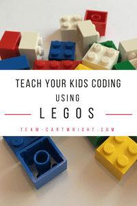 Learn basic coding concepts with Legos! Easy and fun ways to encourage kids to explore coding. Toddler and up! #coding #legos #learning #activity #toddler #preschool #kids #color #pattern Team-Cartwright.com