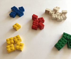Learn how to teach coding with Legos! Toddlers and preschoolers can learn colors and practice sorting. #coding #Legos #toddler #preschool #learning #color #sorting #activity Team-Cartwright.com