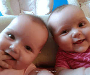 Stop the 45 minute intruder from messing with your twin's naps! How to help fix this annoying nap problem. #45 #minute #intruder #babywise #twins #nap #newborn #baby #sleep Team-Cartwright.com