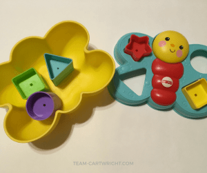 Learning shapes builds literacy and math skills kids carry through their whole lives. Learn why shapes matter and fun ways to work on them. Plus free printables to help! #shapes #toddler #learning #activity #preschool #homeschool #STEM #literacy Team-Cartwright.com