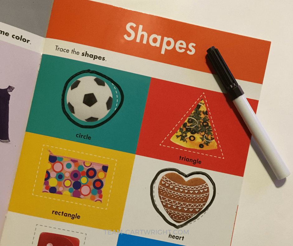 Learn simple ways to work on shapes with your toddlers to build literacy and math skills for life. Plus free printables! #printables #shapes #learning #activity #toddler #preschooler #homeschool Team-Cartwright.com