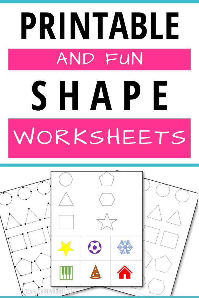 Free Printable Shape Worksheets for Preschool