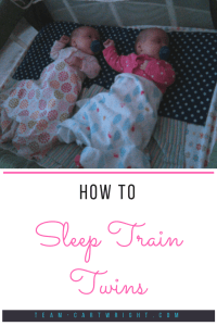 You can sleep train your twins in the same room! Learn how to help your babies and you get the sleep you all need. #twins #babywise #sleep #training #tips #baby #infant Team-Cartwright.com